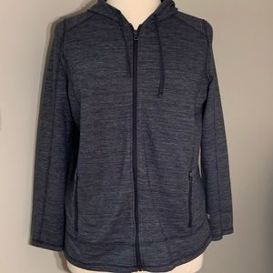 Talbots | Zip-up Hooded Sweatshirt | 1X